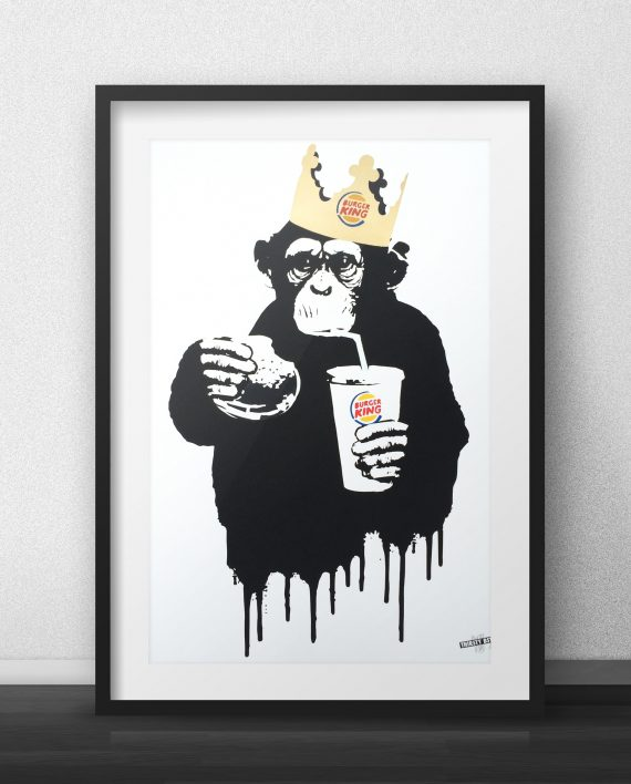 Fast Food Monkey BK Thirsty Bstrd
