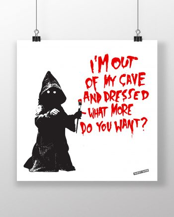out_of_bed_jawa_rat_banksy_thirsty_bstrd_urban_art_star_wars_print